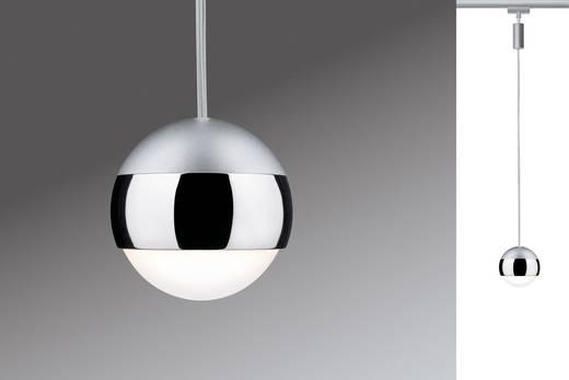 Paulmann Capsule Hochvolt-Schienensystem-Leuchte URail LED fest eingebaut 4.5 W LED Chrom (matt)