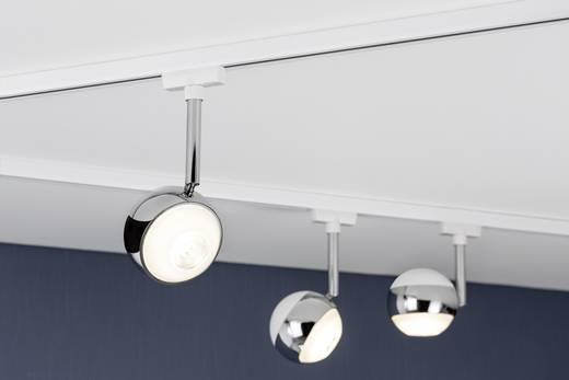 Paulmann kapsel Hochvolt-Schienensystem-Leuchte URail LED fest eingebaut 4.5 W LED Chrom (matt)