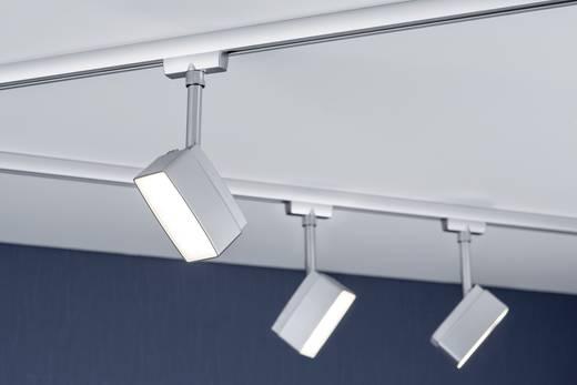 Hochvolt-Schienensystem-Leuchte URail LED fest eingebaut 5 W LED Paulmann Pedal Chrom (matt)