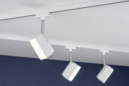 hochvolt schienensystem leuchte urail led fest eingebaut 5 w led paulmann pedal wei. Black Bedroom Furniture Sets. Home Design Ideas