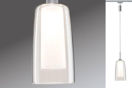 Hochvolt-Schienensystem-Leuchte URail GU10 3 W LED Paulmann 95360 Chrom (matt), Klar, Satin