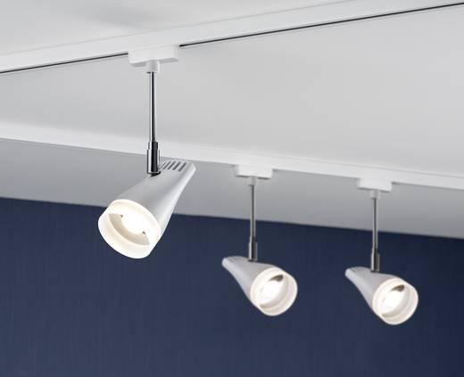 Hochvolt-Schienensystem-Leuchte URail LED fest eingebaut 5.4 W LED Paulmann Drive Weiß