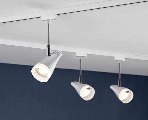 Paulmann Drive Hochvolt-Schienensystem-Leuchte URail LED fest eingebaut 5.4 W LED Weiß