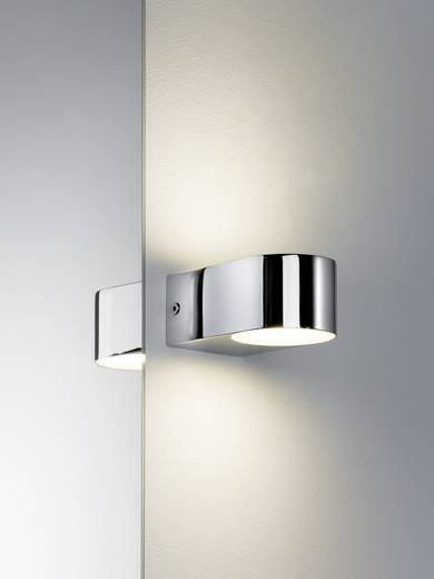 LED-Bad-Wandleuchte 7 W Warm-Weiß Paulmann 70494 Bellatrix Chrom, Satin