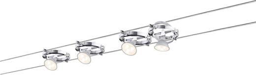 Seil-Komplettsystem GU5.3 16 W LED Paulmann Cardan 94126 Chrom