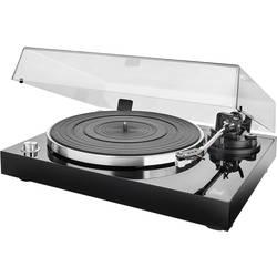 USB gramofón Dual DT 500 USB s remienkovým náhonom, čierna