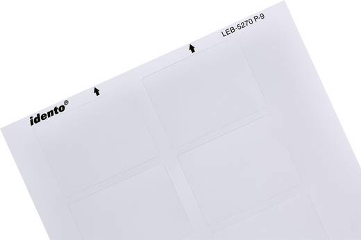 Kabel-Etikett LEB 20 x 53 mm Farbe Beschriftungsfeld: Silber-Grau TE Connectivity 4-1768034-3 4-1768034-3 Anzahl Etikett