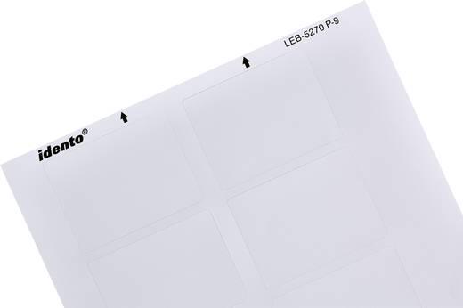 Kabel-Etikett LEB 70 x 52 mm Farbe Beschriftungsfeld: Weiß (matt) TE Connectivity 3-1768034-9 3-1768034-9 Anzahl Etikett