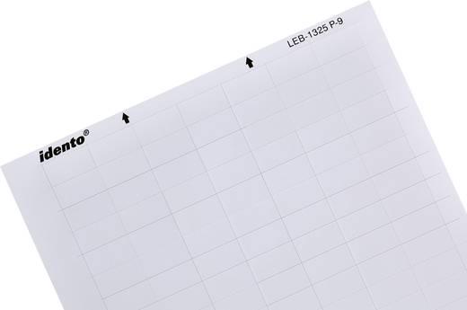 Kabel-Etikett LEB 17.78 x 12.70 mm Farbe Beschriftungsfeld: Weiß TE Connectivity 7-1768033-3 LEB-1318P-9 Anzahl Etikette