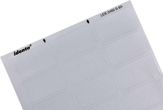 Kabel-Etikett LEB 60 x 34 mm Farbe Beschriftungsfeld: Silber TE Connectivity 3-1768034-5 LEB-3460S-8A Anzahl Etiketten: