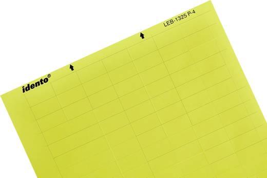 Kabel-Etikett LEB 17.78 x 8.47 mm Farbe Beschriftungsfeld: Gelb TE Connectivity 2-1768033-3 2-1768033-3 Anzahl Etiketten
