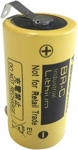 Spezial-Batterie Baby (C) U-Lötfahne Lithium Panasonic BR-C ULF 3 V 5000 mAh 1 St.
