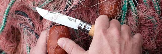 Taschenmesser mit Holster Opinel N°08 mit Etui 254119 Holz, Chrom