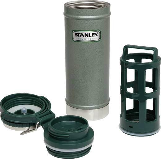 Thermobecher Stanley Vakuum-Travel-Press Grün 473 ml 10-01855-001