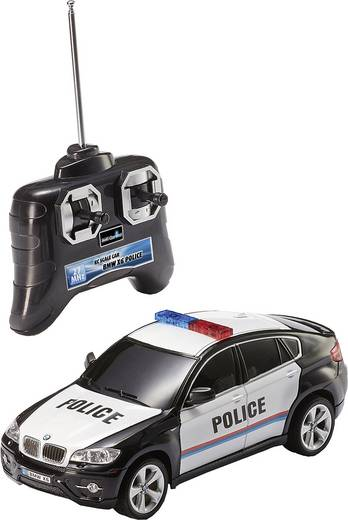 Revell Control 24655 BMW X6 Police 1:24 RC Einsteiger Modellauto Elektro Straßenmodell Heckantrieb
