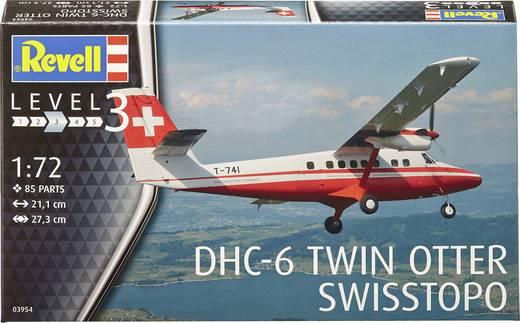 Revell 03954 DHC-6 Twinn Otter Swisstopo Flugmodell Bausatz 1:72