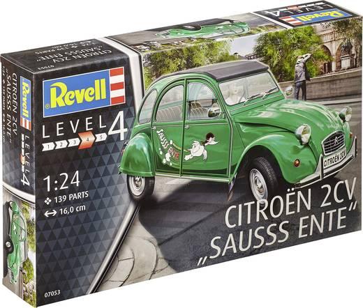Revell 07053 Citroën 2CV Automodell Bausatz 1:24