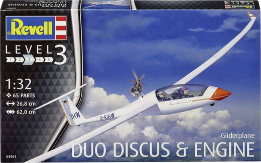 Revell 03961 Duo Discus Flugmodell Bausatz 1:32