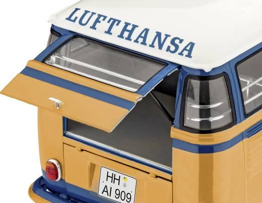 Revell 07436 VW T1 Samba Bus Lufthansa Automodell Bausatz 1:24