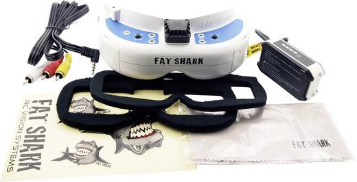 FPV-Brille Fat Shark DOMINATOR V3 800 x 480 Pixel