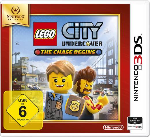 Lego City Undercover: The Chase Begins - Nintendo 3DS & 2DS