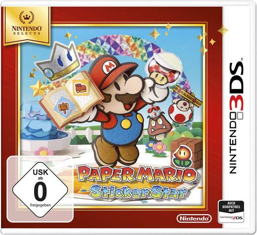 Paper Mario Selects Nintendo 3DS & 2DS USK: 0