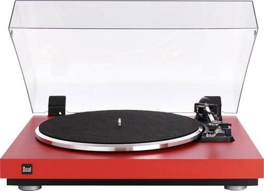 Dual CS 440 Plattenspieler Riemenantrieb Rot