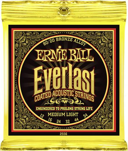 Westerngitarrensaite Ernie Ball EB 2556 012-054