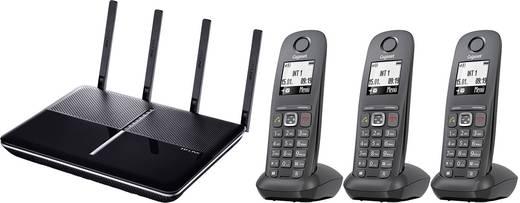 TP-LINK Archer VR2600v + 3x Gigaset A540 CAT WLAN Router mit Modem Integriertes Modem: VDSL, ADSL 2.4 GHz, 5 GHz 2.6 Gbi