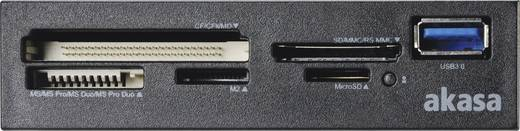 Einbau-Speicherkartenleser 8.9 cm (3.5 Zoll) Akasa AK-ICR-27 Schwarz