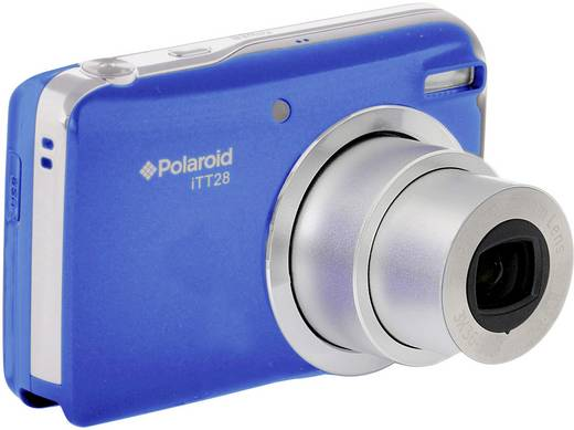 Polaroid ITT-28 Digitalkamera 20.1 Mio. Pixel Opt. Zoom: 20 x Blau