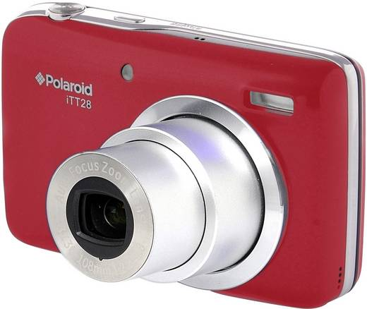 Polaroid ITT-28 Digitalkamera 20.1 Mio. Pixel Opt. Zoom: 20 x Rot
