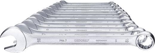 Ring-Maulschlüssel-Satz 12teilig 6 - 19 mm DIN 3113 Form A Gedore 6091530