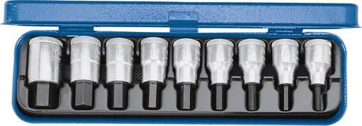 """Innen-Sechskant Steckschlüssel-Bit-Einsatz-Set 9teilig 1/2"""" (12.5 mm) Produktabmessung, Länge 60 mm Gedore 6156250"""