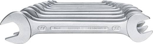 Doppel-Maulschlüssel-Satz 10teilig 6 - 27 mm Gedore 6077540