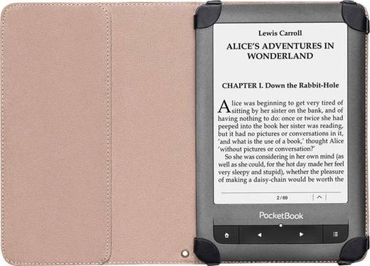 PocketBook Gentle eBook Cover Passend für: Touch Lux, Touch Lux 2, Basic Touch, Touch, PB622, PB623