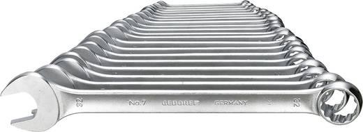 Ring-Maulschlüssel-Satz 20teilig 8 - 32 mm DIN 3113 Form A Gedore 6093660