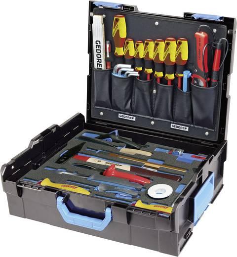 Gedore 2658208 Handwerker Werkzeugkoffer bestückt 36teilig (L x B x H) 442 x 357 x 151 mm