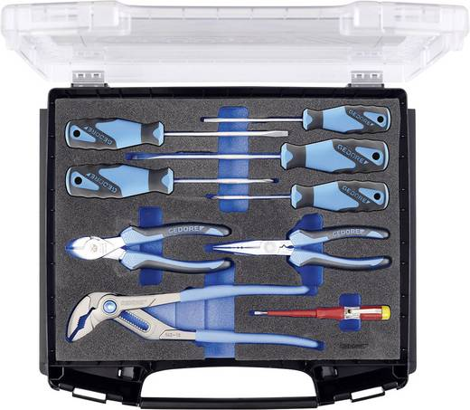Handwerker Werkzeugset im Koffer 9teilig Gedore 2836149