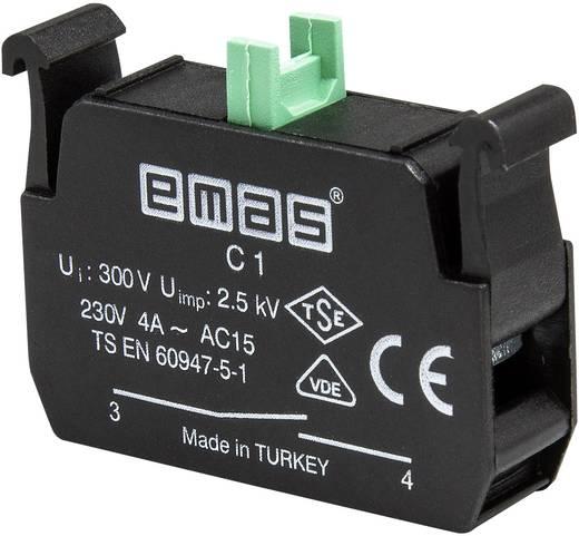 Kontaktelement 1 Schließer tastend 230 V/AC EMAS C1 1 St.