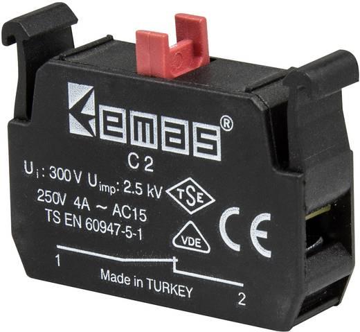 Kontaktelement 1 Öffner tastend 230 V/AC EMAS C2 1 St.