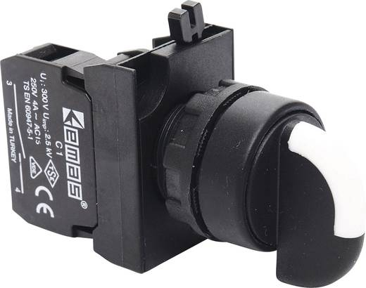 Drehschalter 230 V/AC 4 A 1 x 45 ° EMAS CP100S21 IP65 1 St.