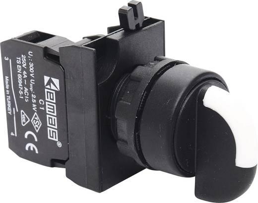 Drehschalter 230 V/AC 4 A 2 x 45 ° EMAS CP101S31 IP65 1 St.