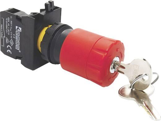 Not-Aus-Schalter absperrbar, mit Kontaktelement 230 V/AC 4 A 1 Öffner EMAS CP200EA30 IP65 1 St.