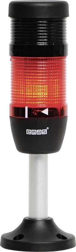 Colonne lumineuse LED 1 élément, avec buzzer EMAS IK51L024ZM03 rouge 24 V DC/AC 1 pc(s)