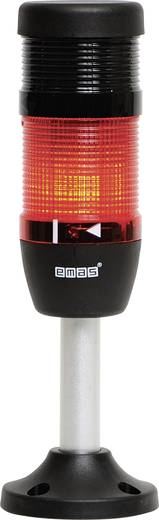 LED-Signalsäule 1-fach, mit Summer Rot 24 V DC/AC EMAS IK51L024ZM03 1 St.