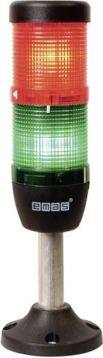 LED-Signalsäule 2-fach Grün, Rot 24 V DC/AC EMAS IK52F024XM03 1 St.