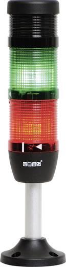 LED-Signalsäule 2-fach, mit Summer Grün, Rot 24 V DC/AC EMAS IK52F024ZM03 1 St.