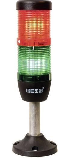 LED-Signalsäule 2-fach Grün, Rot 220 V DC/AC EMAS IK52F220XM03 1 St.