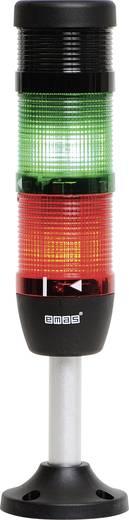 LED-Signalsäule 2-fach, mit Summer Grün, Rot 24 V DC/AC EMAS IK52L024ZM03 1 St.